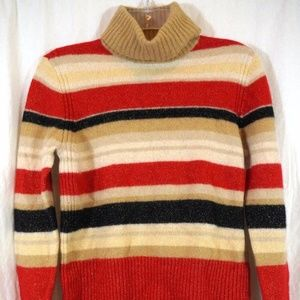 Tommy Hilfiger Turtle Neck Lambs Wool Sweater